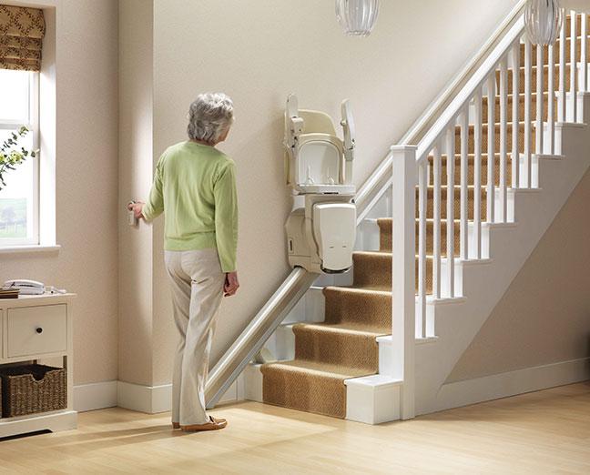 Afstandbediening voor trapliften
