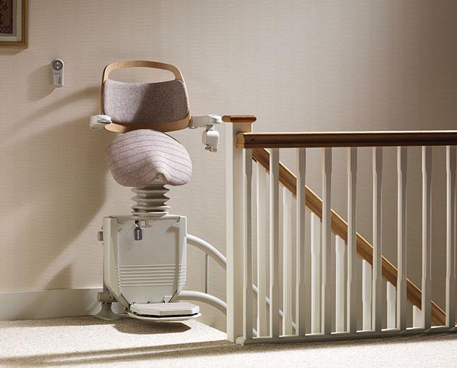 Stannah Sadler traplift voor trappen